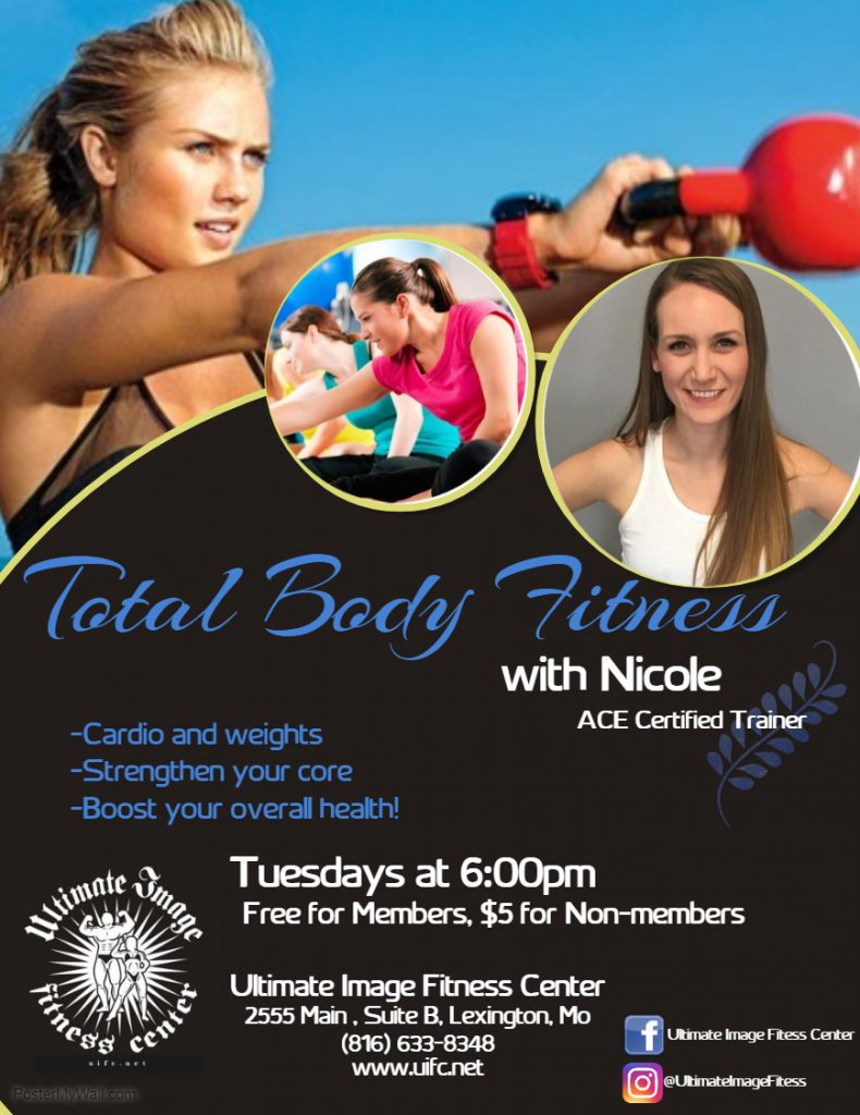 Tuesday Total Body Fitness w Nicole