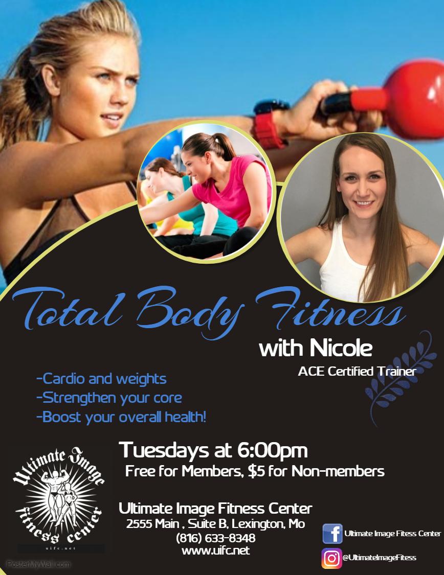 Tuesday Total Body Fitness w Nicole